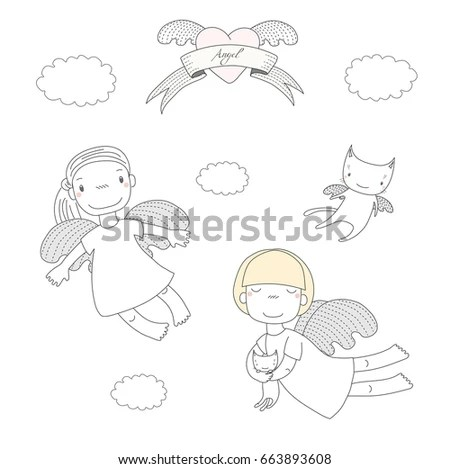 Angel Vector Stock Images, Royalty-Free Images & Vectors