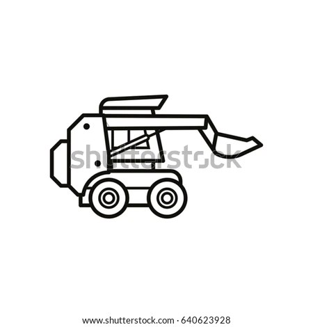New Holland Skid Steer Coloring Pages Coloring Pages