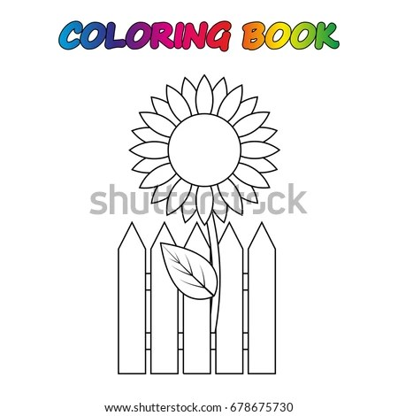 Sunflower Cartoon Stock Images, Royalty-Free Images