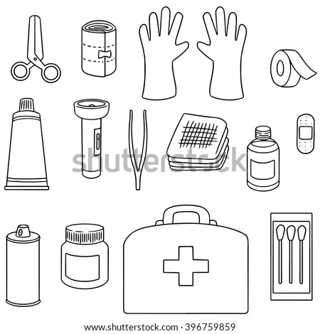 Gymnastics Coloring Sheet First Aid Kit Coloring Pages