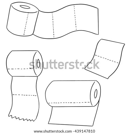 Baby Absorbent Diaper Vector Illustration Stock Vector