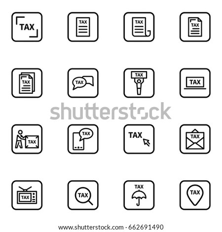 Tax Icon Stock Images, Royalty-Free Images & Vectors