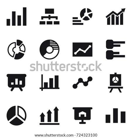 Stock Market Trading Icons Set Vector Stock Vector