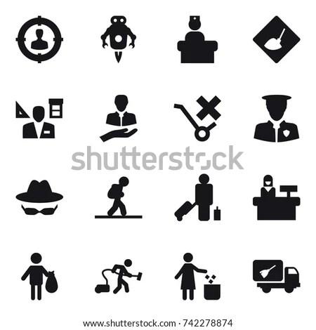 Bank Business Finance Worker Staff Agent 스톡 벡터 130501547
