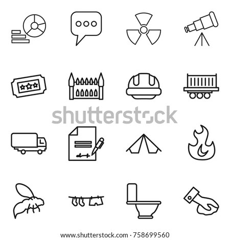 Cartoon Buildings On Fire Stock Images, Royalty-Free