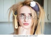 bad hair day stock royalty-free