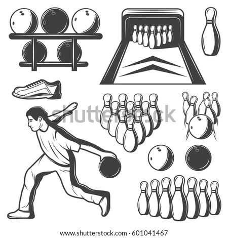 Vintage Bowling Stock Images, Royalty-Free Images