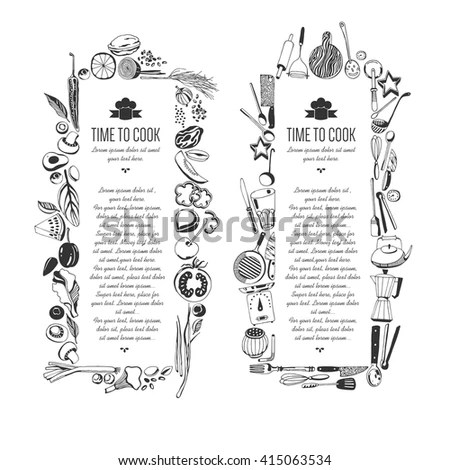 Breakfast Border Stock Images, Royalty-Free Images