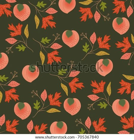 Fall Round Picnic Table Wallpaper Oak Fruit Stock Images Royalty Free Images Amp Vectors
