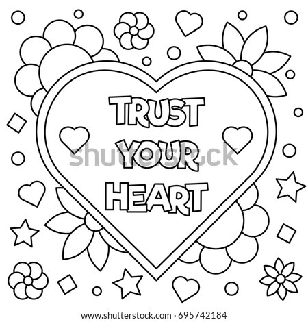 Trust Coloring Pages