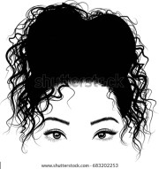 black girl cute bun hairstyles