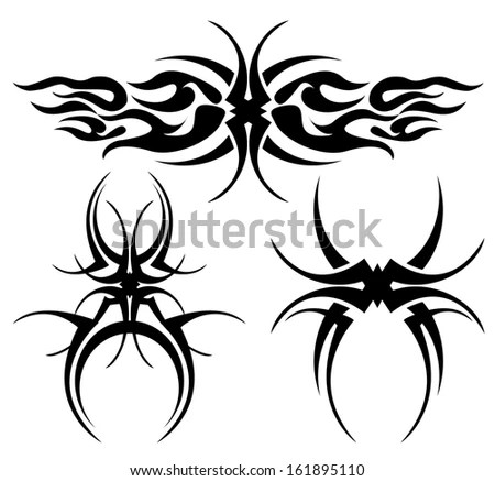 Tribal Flames Stock Photos, Royalty-Free Images & Vectors