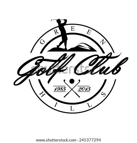 Golf Logo Stock Images, Royalty-Free Images & Vectors