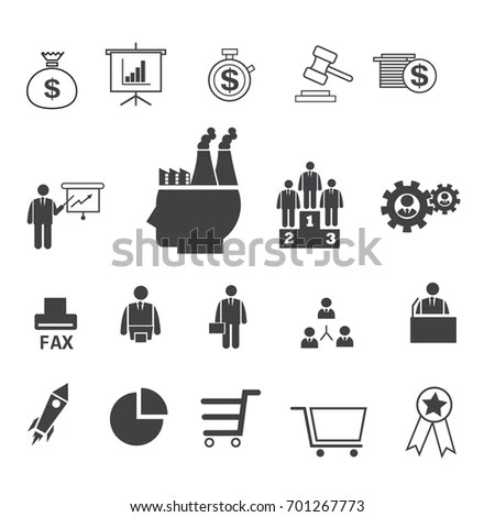 Business Icons Set Icons