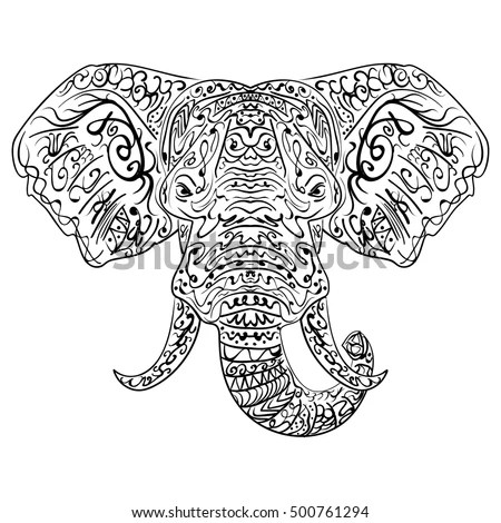Elephant Drawing Stock Images, Royalty-Free Images