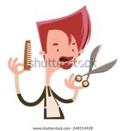 hair stylist stock vectors & vector