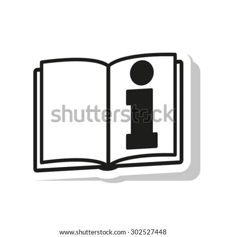 Read Instructions Symbol Vector Icon Stock Vector