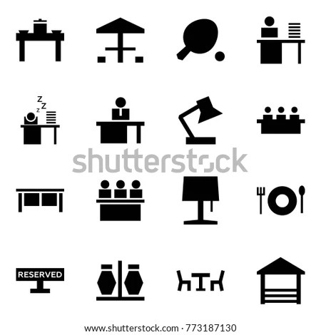 Education Learning Icon Set Stock Vector 109040951