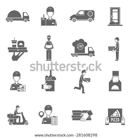 Auto Mechanic Working On Car Icons 스톡 벡터 523626526