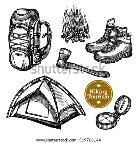 Hiking Boot Icon Stock Images, Royalty-Free Images
