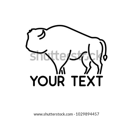 Cartoon Bison Stock Images, Royalty-Free Images & Vectors