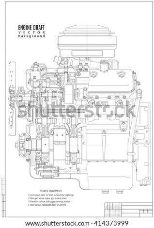 Vw Engine Frame VW Engine Blueprint Wiring Diagram ~ Odicis