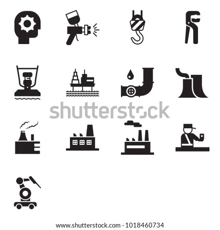 Thermal Power Plant Stock Vectors, Images & Vector Art