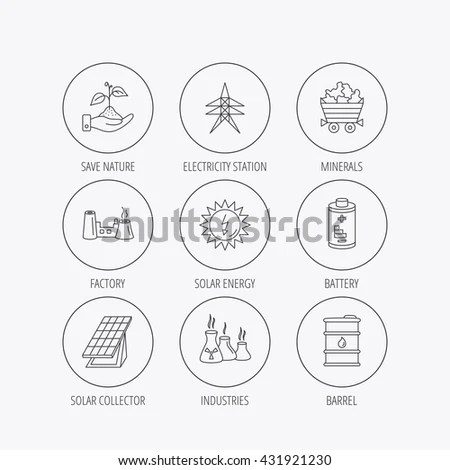Various Types Charts Infographics Publications Stock