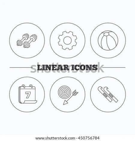 Disc Icons Set Set 9 Disc Stock Vector 588720956