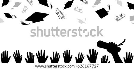 Graduation Cap Cartoon Stock Images, Royalty-Free Images