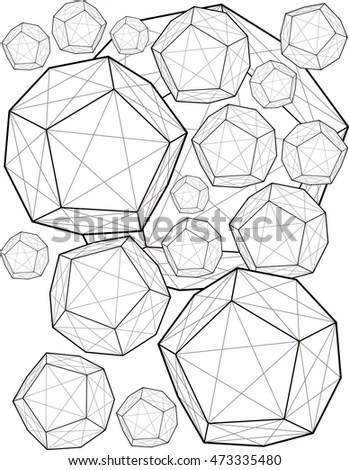 Dodecahedron Stock Photos, Royalty-Free Images & Vectors