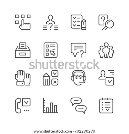 Questionnaire Stock Images, Royalty-Free Images & Vectors