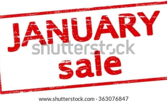 January Sale Stock Images Royalty Free Images Vectors
