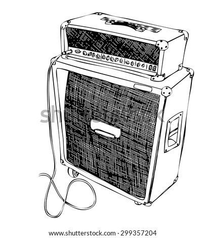 Guitar Amp Stock Images, Royalty-Free Images & Vectors