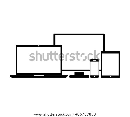 Laptop Tablet Mobile Stock Images, Royalty-Free Images