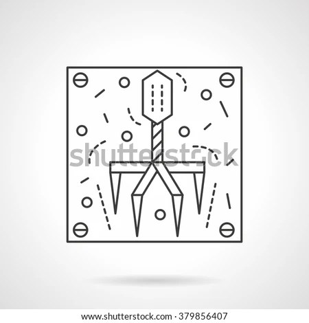 Bacteriophage Stock Photos, Royalty-Free Images & Vectors