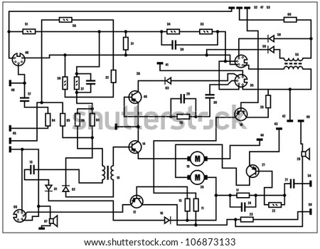 Electronic Schematic Stock Images, Royalty-Free Images