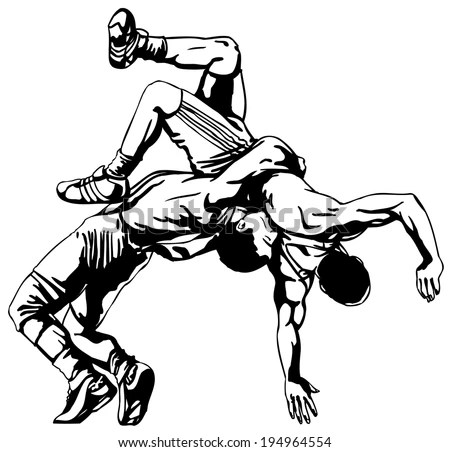 Wrestling Stock Images, Royalty-Free Images & Vectors