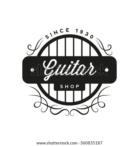Guitar Logo Stock Images, Royalty-Free Images & Vectors