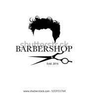barber branding stock