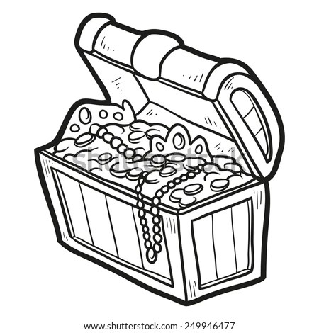 Pirate Treasure Chest Stock Images, Royalty-Free Images