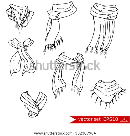 Scarf Stock Photos, Royalty-Free Images & Vectors