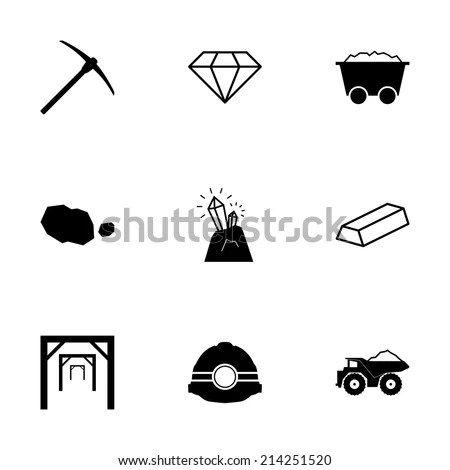 Mining Icon Stock Images, Royalty-Free Images & Vectors