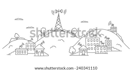 Transmission Tower Stock Photos, Royalty-Free Images