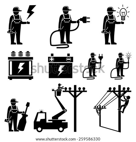Power Lineman Stock Images, Royalty-Free Images & Vectors