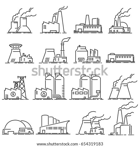 Factory Icon Stock Images, Royalty-Free Images & Vectors