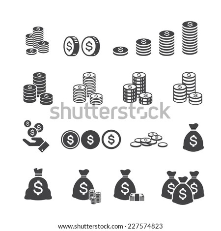 Stack Of Coins Stock Images, Royalty-Free Images & Vectors