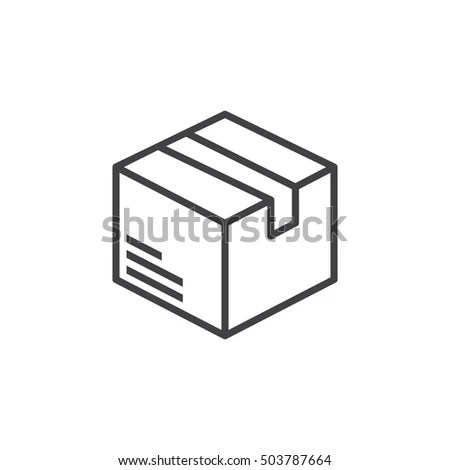 Packaging Pictogram Stock Images, Royalty-Free Images