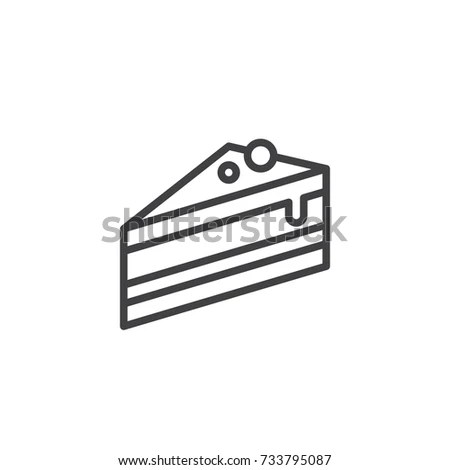 Cake Slice Stock Images, Royalty-Free Images & Vectors