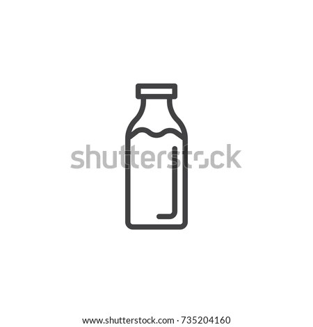 Milk Bottle Stock Images, Royalty-Free Images & Vectors